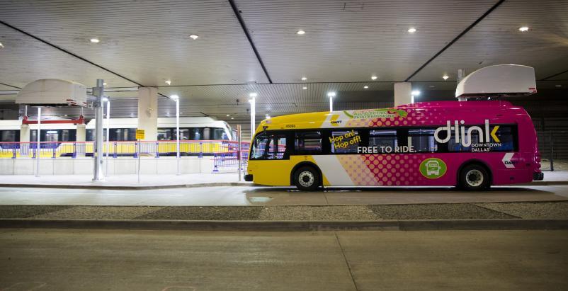dallas electric bus