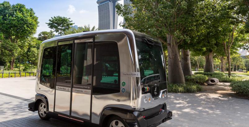 smart city strategy autonomous cars