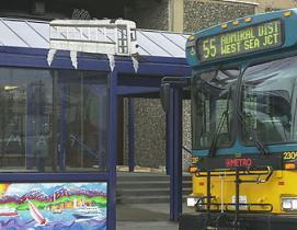 public transit access