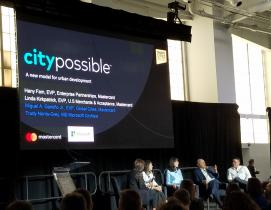microsoft mastercard smart cities partnership