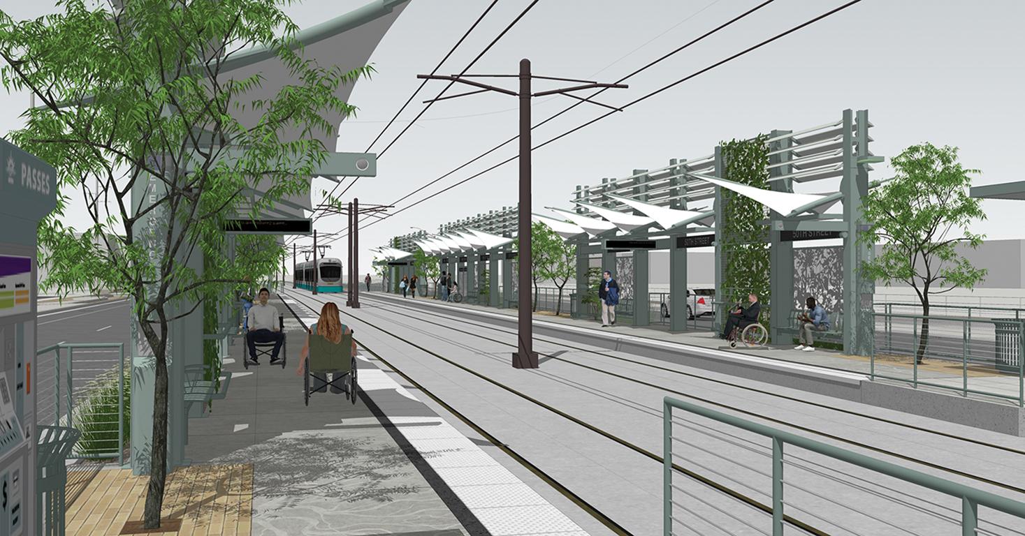 light rail station rendering 2