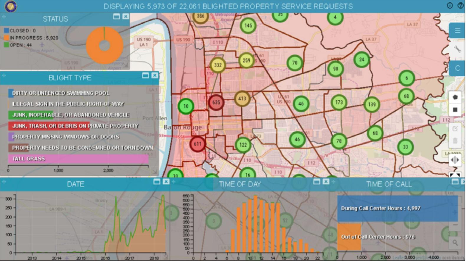 smart m.app blighted properties