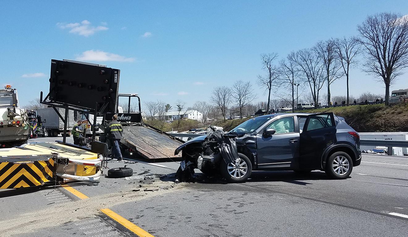 vehicles crashes