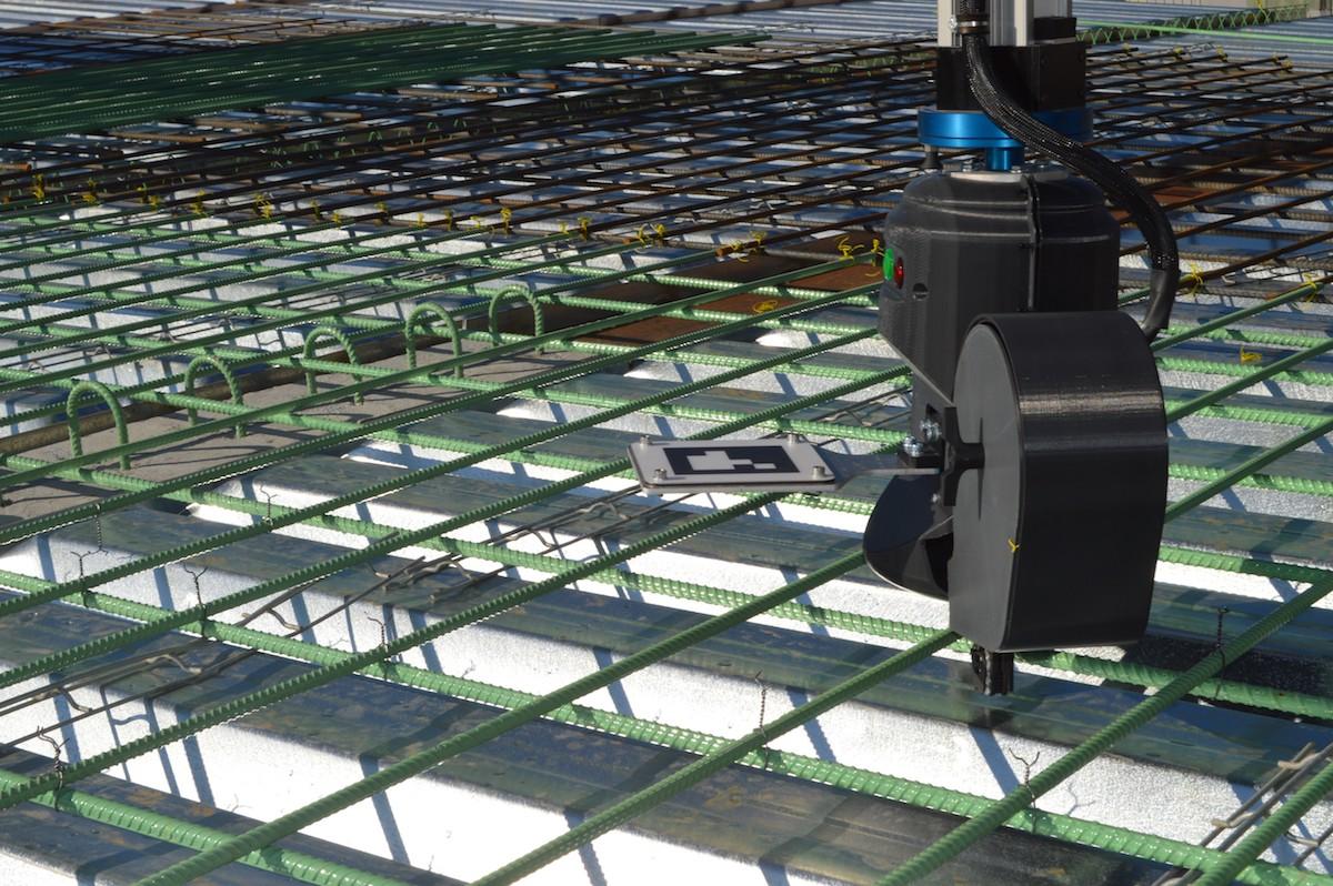 robot rebar tying